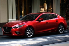MAZDA NORTH AMERICAN OPERATIONS - The 2016 Mazda3 is one of the best lookng copacts on the market, thanks to the company's current KODO - Soul of Motion design philosophy.