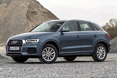 AUDI PRESS AG - Despite its small size, the 2016 Audi Q3 resembles the company's larger Q5 and Q7 crossovers.