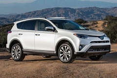 TOYOTA MOTOR SALES USA - A bolder front fascia is the most significant styling change on the 2016 Toyotas RAV4, the compact crossover that created the market niche.