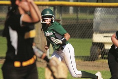 PHIL HAWKINS - North Marion senior Tori Harper was 2-for-3 at the plate in the Huskies' 2-1 win over Cascade on Friday.