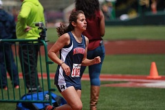 PHIL HAWKINS - Kennedy freshman Alejandra Lopez finished 9th in the 2A 3000 with a time of 11:53.10 in her state track meet debut.