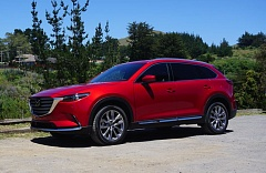 PORTLAND TRIBUNE: JEFF ZURSCHMEIDE - The exterior styyling on the 2016 Mazda CX-9 is crisp and bold, in keeping the Japanese carmarker's corporate design standards.