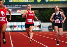 DAN BROOD - Westside Christian High School junior Emily Curtis won the 800-meter run, and she placed second in the 400, at the Class 3A state track and field championships. Curtis also ran legs for two Eagle relay teams that competed at state.