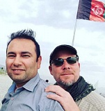 MONIKA EVSTATIEVA - This undated photo provided by NPR shows Zabihullah Tamanna, left, and David Gilkey. Gilkey, a veteran news photographer and video editor for National Public Radio, and Tamanna, an Afghan translator, were killed while on assignment in southern Afghanistan on Sunday, June 5.