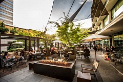 COURTESY PHOTO - The inviting patios at downtown's Nel Centro (above) and Lloyd District's Altabira City Tavern have been part of the success formula for owner David Machado.