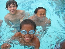 COURTESY: PORTLAND PARKS & RECREATION - Some youngsters enjoy swimming and playing in Peninsula Pool, which, like most other Portland pools, opens June 14.