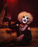 COURTESY: LORENZO TRIBURGO - Portland performer Anthony Hudson's drag clown Carla Rossi has been my 'armor,' but Hudson plays himself in the introspective piece 'Looking for Tiger Lily,' part of the Risk/Reward Festival.