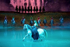 COURTESY: DAN HARPER - The connection between humans, horses and nature is explored in Cavalia's 'Odysseo,' which starts in Portland on July 7.