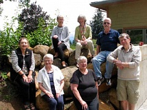 SUBMITTED PHOTO  - The 2016 Friends of the West Linn Adult Community Center Board includes in seated in back row left to right, Marsha Wilkins, Mieke Wiegman and Bill Barger; front row, left to right, Irene Jones, Margaret DeJardin, Lorene Bay and Warren Guest.