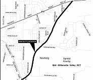 OREGON DEPARTMENT OF TRANSPORTATION - The next phase of the Newberg-Dundee bypass is planned to run northeast from Highway 219 to Highway 99W at the base of Rex Hill.