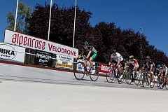 SUBMITTED PHOTO - Elite cyclists from around the world will visit Alpenrose Dairy's velodrome for the annual Velodrome Challenge July 8-10.