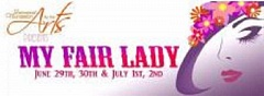 SUBMITTED GRAPHIC - Tickets are on sale for 'My Fair Lady,' set for Stella Olsen Park, June 29 and 30; and July 1 and 2 at 7:30 p.m.