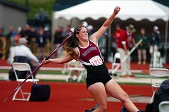 DAN BROOD - Payge Cuthbertson won a state title in the javelin during her senior year at Sherwood.