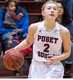 COURTESY U OF PS - Puget Sound guard Alexis Noren