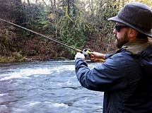 CONTRIBUTED PHOTO - A steelhead fishing workshop will be held from 9 a.m. to 4 p.m. on Saturday, July 23, at Oxbow Regional Park near Sandy. Call 503-947-6025 for more information.
