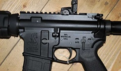 PMG FILE PHOTO - The District 2 team is raffling off a semi-automatic AR-15 rifle similar to the one shown here.