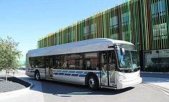 COURTESY NEW FLYER - An example of the New Flyer electric-battery buses TriMet will purchase.