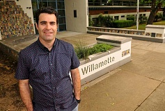 SPOKESMAN PHOTO: VERN UYETAKE - Patrick Minor will take over as principal at Willamette Primary. Minor worked previously as an instructional coordinator at Sunset Primary in 2015-16 and at Stafford Primary before that.