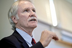 TRIBUNE FILE PHOTO - Former Gov. John Kitzhaber will speak on Monday in Portland as part of a panel on health care reform.