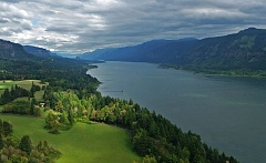 PHOTO BY LIV SMITH, COURTESY COLUMBIA RIVERKEEPER - The  Columbia River at Cape Horn is picture perfect.