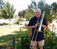 BARBARA SHERMAN - Ron Johnsosn and his fellow Rose City Trombones players will not be trusting their instrumnents to the airlines but instead will be shipping them to China ahead of time.