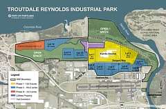 CONTRIBUTED PHOTO: PORT OF PORTLAND - Undeveloped land at the Troutdale Reynolds Industrial Park. The Port of Portland is hoping to find a buyer for an additional 178 acres soon.