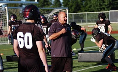 DAN BROOD - Bill Zernickow shared Three Rivers League, and Class 6A, Coach of the Year honors after leading the 2015 Tualatin football team to an 8-3 record.