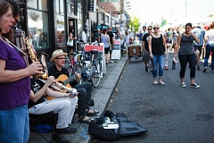 PORTLAND TRIBUNE FILE PHOTO - The Hawthorne Street Fair will feature music, vendors, performances, art and much more between Southeast 31st and 38th avenues on Sunday.