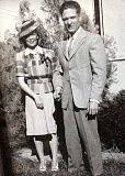 SUBMITTED PHOTO - James and Eloise Caster eloped 75 years ago. They were married in Salome, Ariz.