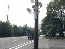 HANNAH SCHAFER, PORTLAND BUREAU OF TRANSPORTATION. - A new Speed Safety Cameras installed along the Beaverton-Hillsdale Highway in Southwest Portland.