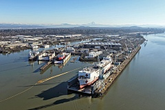 COURTESY PORT OF PORTLAND  - The Swan Island Lagoon will be among the most costly Superfund cleanup areas. The Port of Portland says it can lead the effort,  and do it cheaper than the EPA.