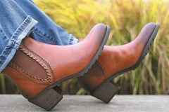 JAIME VALDEZ - Fall shoe fashions are in stock at When the Shoe Fits. Pictured is Pikolinos Verona.