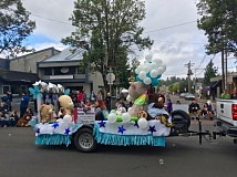 OUTLOOK PHOTO: JOSH KULLA - Many of the floats in the parade prominently featured teddy bears.