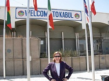 SUBMITTED PHOTO - Welcome to Kabul. Valerie Fowler is just coming off the most satisfying assignment of her diplomatic career, assisting reconstruction in Afghanistan.