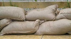 SUBMITTED PHOTO - Sand and bags will be available at Hazelia Field until the threat of flooding subsides, city officials said Wednesday, as a series of storms bore down on the Pacific Northwest with heavy rain and strong winds in tow.