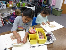 COURTESY OF SAMARA HOWELL - Art in the Burbs has played a major role in keeping Art Literacy programs alive in schools throughout the Tigard-Tualatin School District, last year giving $1,000 grants to every elementary school in the district (and more to middle and high schools).