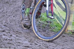 SUBMITTED PHOTO - It's likely to get pretty muddy at Luscher Farm on Oct. 29 when bike riders participate in the city's first Crosstoberfest Cyclocross Race.