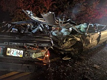CONTRIBUTED PHOTO - Three people died in a crash on Highway 211 on Saturday, Oct. 22.