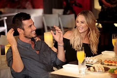PHOTO COURTESY OF DISNEY - Ben Higgins and West Linns Lauren Bushnell navigate everyday life in their new show.