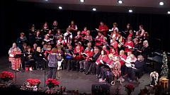CONTRIBUTED PHOTO - The Gresham Community Choir marks 25 years singing for area audiences, with a holiday concert Dec. 4.