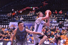 SPOKESMAN FILE PHOTO: COREY BUCHANAN - Wilsonville senior wing Zach Reichle won 5A Player of the Year honors as a junior last season.