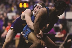 HERALD FILE PHOTO: COREY BUCHANAN - Canby wrestler Gus Warren won a Special District 4 title in the 132-pound division last season.
