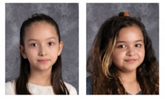 COURTESY PHOTOS: REYNOLDS SCHOOL DISTRICT - Janet Cortinas, 8, and Jasmine Duran, 11