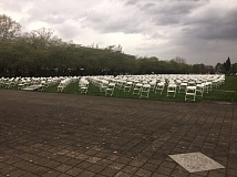 PARIS ACHEN/CAPITAL BUREAU - Nearly 800 empty chairs on the green of the Oregon Capitol in Salem on Wednesday, April 19, 2017, represent the 762 Oregonians who took their own lives in 2015.