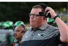PAMPLIN MEDIA: DAVID BALL - Dustin Ganz has been named the new football coach at Oregon City High School after four seasons as the head coach at Reynolds.