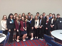 SUBMITTED PHOTO - Canby High's FBLA marketing team.