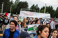 FILE PHOTO: JONATHAN HOUSE - Tigard students march in protest to White House immigration policy, in this 2016 file photo.