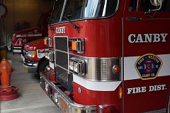 DANIEL PEARSON - On April 18, Canby Fire responded to a call about a gas leak at Mike's Place, which is located downtown on First Avenue.
