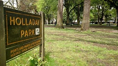 KOIN 6 NEWS - Holladay Park in Northeast Portland.
