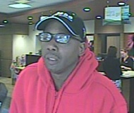 PORTLAND POLICE BUREAU - This suspect is beleived to have robbed four Portland banks.